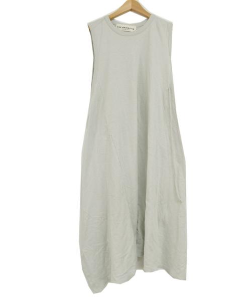 THE SHINZONE(ザ シンゾーン)THE SHINZONE (ザ シンゾーン) 20SS/CREPE WEAVE DRESS スカイブルー サイズ:Fの古着・服飾アイテム