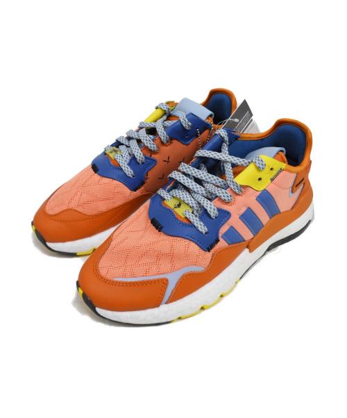 adidas×Ninja(アディダス×ニンジャ)adidas×Ninja (アディダス×ニンジャ) ナイト ジョガー スニーカー オレンジ サイズ:27.0cm 未使用品の古着・服飾アイテム