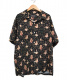 Supreme×HYSTERICGLAMOUR(シュプリーム×ヒステリックグラマー)の古着「ブラードガールレーヨンシャツ」|ブラック