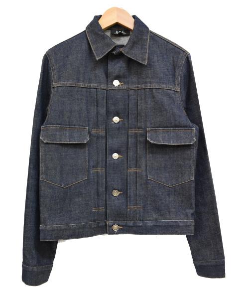 A.P.C.(アーペーセー)A.P.C. (アーペーセー) 2ndデニムジャケット インディゴ サイズ:Sの古着・服飾アイテム