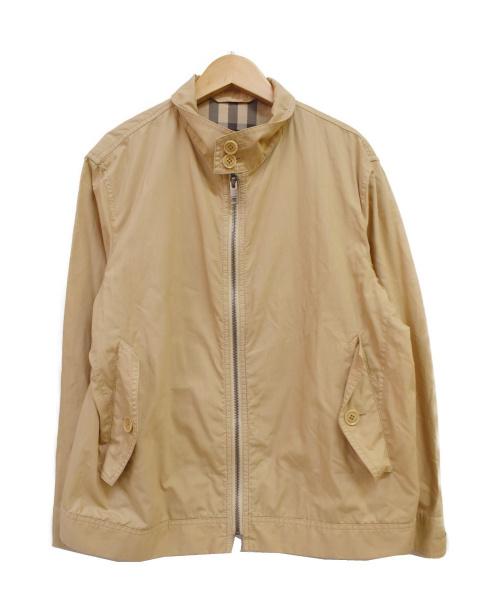 BURBERRY LONDON(バーバリーロンドン)BURBERRY LONDON (バーバリーロンドン) スイングトップ ベージュ サイズ:Mの古着・服飾アイテム