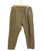 CASEY CASEY(ケーシーケーシー)の古着「KAKOO PANTS パンツ」 オリーブ