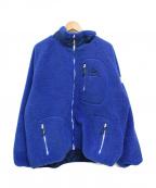 KELTY(ケルティ)の古着「ボアフリースジャケット」|ブルー