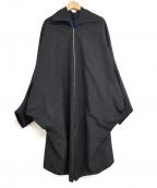 KANATA(カナタ)の古着「15SS Rain Coat ジップアップ レインコート」 ブラック