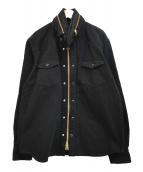 sacai(サカイ)の古着「20SS ストレートフィットデニムジャケット」|ブラック