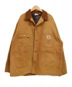()の古着「ダック地ワークインプログレスジャケット」 ブラウン