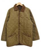 LAVENHAM(ラベンハム)の古着「キルティングジャケット」|オリーブ