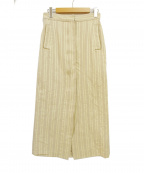 CITYSHOP(シティショップ)の古着「JQストライプスカート」|ベージュ