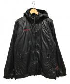 MAMMUT(マムート)の古着「ナイロン中綿ジャケット」 ブラック