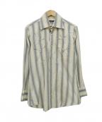 GUCCI()の古着「シルクウエスタンシャツ」 マルチカラー