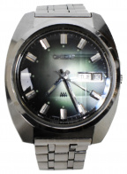 ORIENT(オリエント)の古着「自動巻き腕時計 カットガラス」