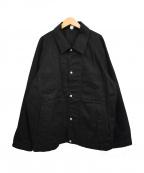 ROTOL()の古着「18SSカバーオール」|ブラック