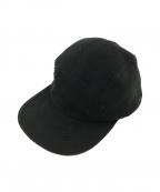 UNIVERSAL PRODUCTS.(ユニバーサルプロダクツ)の古着「フリースキャップ」 ブラック
