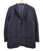 ()の古着「紺ブレザージャケット」|ネイビー