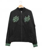 BILLIONAIRE BOYS CLUB(ビリオネアボーイズクラブ)の古着「トラックジャケット」 ブラック×グリーン
