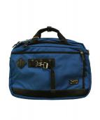 ()の古着「2WAYビジネスバッグ ショルダー ハンド」|ブルー