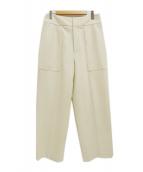 IENA(イエナ)の古着「ハード圧縮パンツ」|オフホワイト