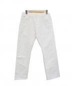 45R()の古着「比古比女/セルビッチホワイトデニムパンツ」|ホワイト
