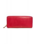 CYPRIS(キプリス)の古着「ラウンドファスナー長財布」|ピンク