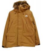 ()の古着「グレーストリクライメートジャケット」|ブラウン