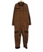 X-LARGE(エクストララージ)の古着「ADJUSTABLE JUMP SUIT」|ブラウン