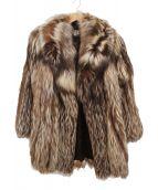 SAGA FOX(サガフォックス)の古着「フォックスファーコート」|ブラウン