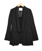 DEUXIEME CLASSE(ドゥーズィエム クラス)の古着「テーラードジャケット」|ブラック