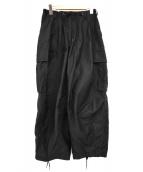 Needles(ニードルス)の古着「20AW H.D.Pants ヒザデルパンツ」|ブラック