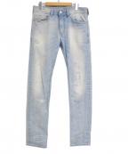 DIESEL()の古着「THAVAR スリムスキニーデニムパンツ」|インディゴ