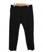 DSQUARED2(ディースクエアード)の古着「19SS/ウール混スラックス」|ブラック