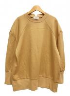 TORRAZZO DONNA(トラッゾドンナ)の古着「カレッジ風スウェット」 ベージュ
