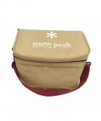 Snow peak(スノーピーク)の古着「ソフトクーラーボックス ショルダーバッグ」 ベージュ