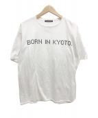 ()の古着「半袖プリントカットソー Tシャツ」 ホワイト