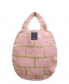 mina perhonen(ミナ ペルホネン)の古着「brick/エッグバッグ」|ピンク