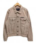 NAUTICA(ノーティカ)の古着「トラッカージャケット」|ピンク