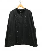 ZUCCA(ズッカ)の古着「デザインシャツジャケット」 ブラック