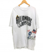 BILLIONAIRE BOYS CLUB(ビリオネアボーイズクラブ)の古着「MOONWALK 50th TEE Tシャツ ロゴ限定」 ホワイト
