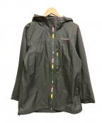 Columbia()の古着「ナイロンジャケット」|グレー