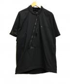 KLATTERMUSEN(クレッタルムーセン)の古着「半袖プルオーバージャケット」 ブラック