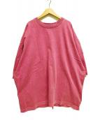 ()の古着「MACHO BUFFALO TEE Tシャツ 」|ピンク