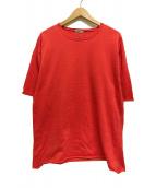 ()の古着「クルーネックニットTシャツ」|レッド