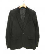 LITHIUM HOMME(リチウムオム・ファム)の古着「1Bジャケット テーラード」|ブラック