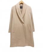 LAUTRE AMONT()の古着「ショールカラーコート/gardena」|ピンク