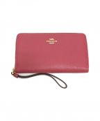 COACH()の古着「長財布」|ピンク