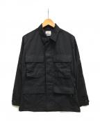 VINTAGE MILITALY(ヴィンテージ ミリタリー)の古着「[古着]90's BDUミリタリージャケット」|ブラック