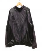 WILLY CHAVARRIA(ウィリーチャバリア)の古着「HASTLER TRACK JACKET/トラックジャケット」 ブラウン