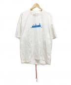 MINDSEEKER(マインドシーカー)の古着「18AW ロゴプリントTシャツ」|ホワイト