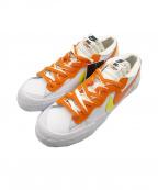 NIKE×sacai(ナイキ×サカイ)の古着「Blazer Low 'Magma Orange' コラボ 」 ホワイト