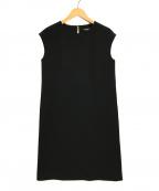 UNITED ARROWS TOKYO(ユナイテッドアローズトウキョウ)の古着「AP/KS P Box – Dress ドレス ワンピース」|ブラック