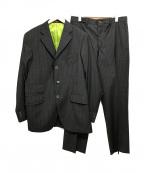 ETRO(エトロ)の古着「セットアップスーツ/ストライプ」|グレー
